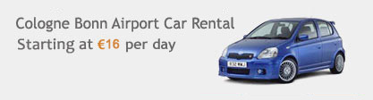 Cologne Bonn Airport Car Rental
